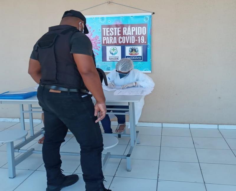 Covid-19: Saúde de Amarante inicia testes rápidos em seguranças públicos
