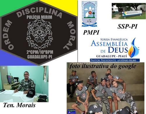 Inscrições para Pelotão de Policia Mirim de Guadalupe estão abertas