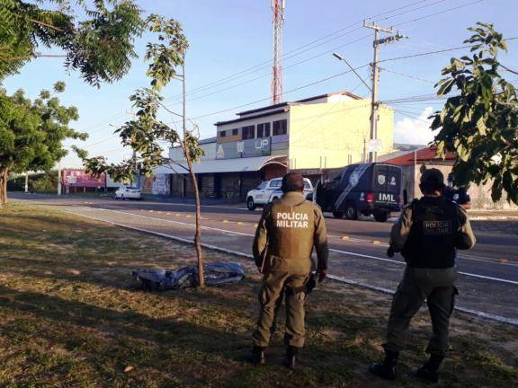 Jardineiro de delegado é morto com facada em Parnaíba