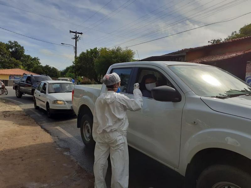 Saúde de Monsenhor Gil utiliza termômetros infravermelho na população