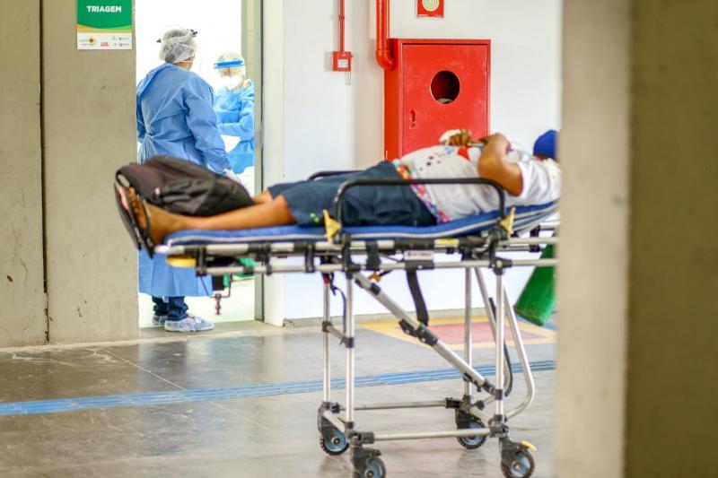 Hospital de Campanha no Verdão recebe primeiro paciente