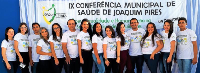Prefeitura de Joaquim Pires realiza IX Conferência Municipal de Saúde 2017