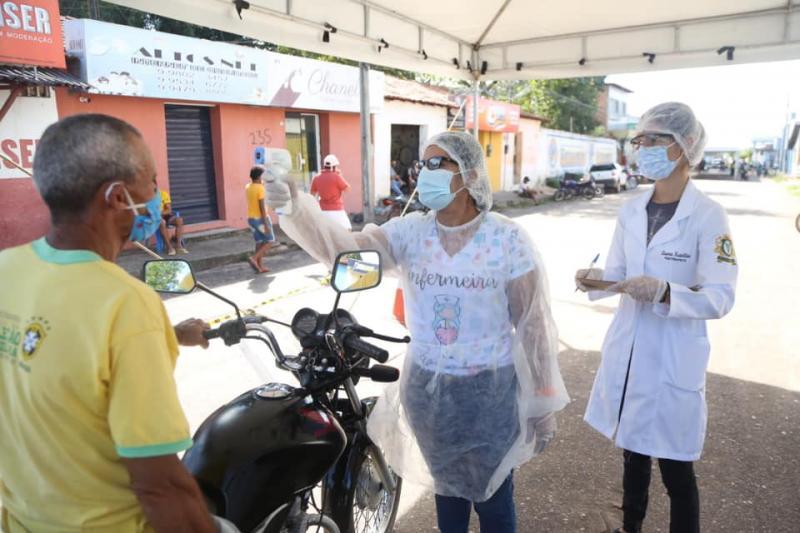 Prefeitura de Altos intensifica ações com barreiras sanitárias no município