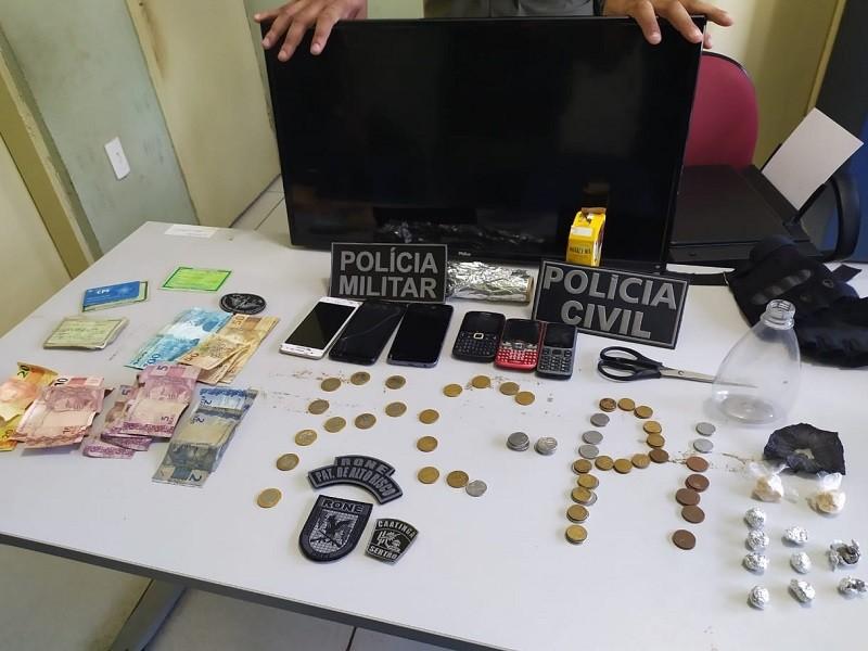 Casal é preso acusado de tráfico de drogas e furto no Piauí