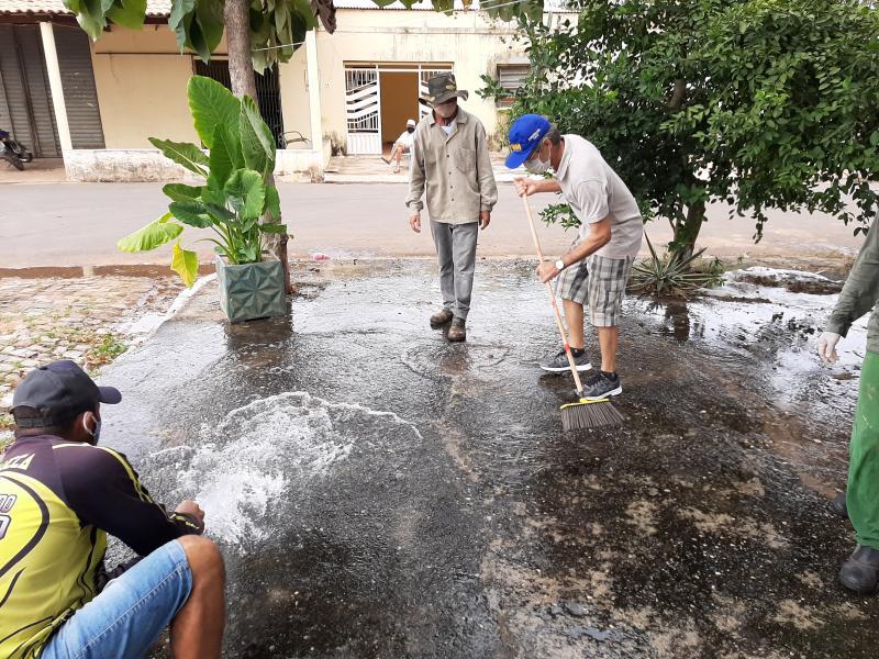 Confira fotos e vídeos do Mutirão de Limpeza do bairro Codó