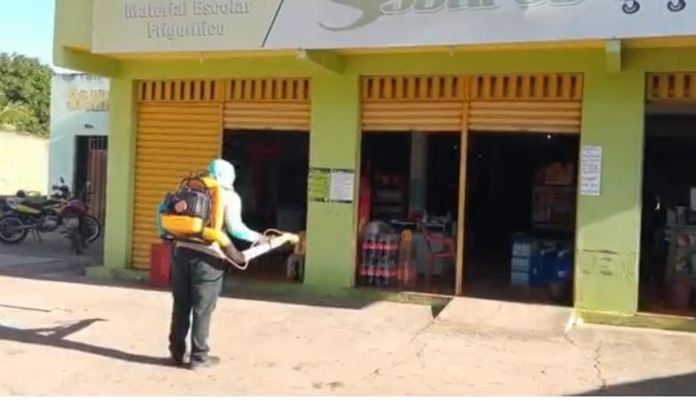 Prefeitura intensifica ações de desinfecção em Santa Cruz dos Milagres