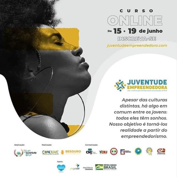 Corrente | COMJUV anuncia inscrições para o curso 'Juventude Empreendedora'