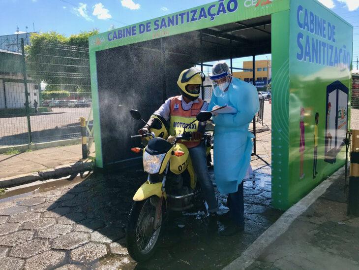 Barreira sanitária é instalada na Nova Ceasa e Rodoviária de Teresina