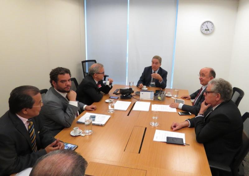 Prefeito Jonas Moura acompanha reunião no BNDES para melhorias no setor elétrico no Piauí