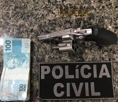 Investigado por comercializar armas de fogo é preso pelo GPE-18/Timon