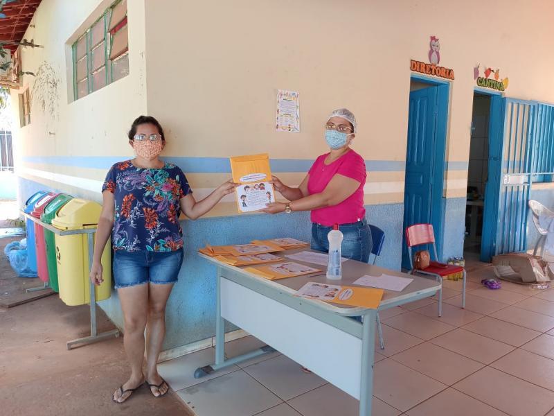 Iniciada a distribuição de atividades no plano de aulas remotas em L. Sales