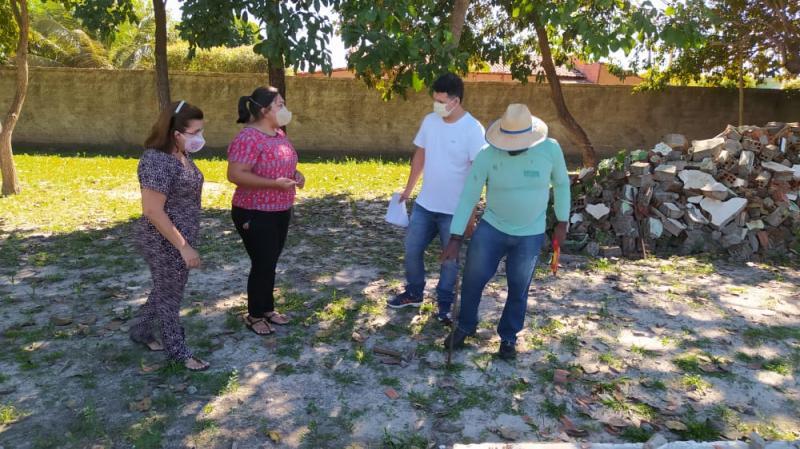 Prefeitura de São João do Arraial inicia ampliação da Escola Paulo Freire