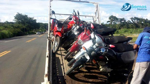 PRF e Polícia Civil de Amarante apreendem 40 veículos em ação conjunta