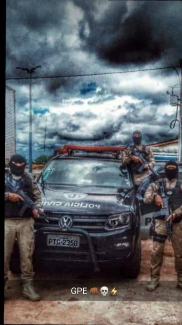 GPE-18/Timon cumpre mandado e prende Irmãos 'Neto Bala' e Carlinhos 157