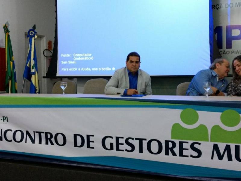 Demerval Lobão: prefeito participa de reunião sobre extinção de gambiarras elétricas e saneamento