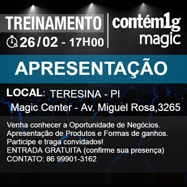 Demerval Lobão: consultora Contém1g convida interessados para treinamento e oportunidade de negócio