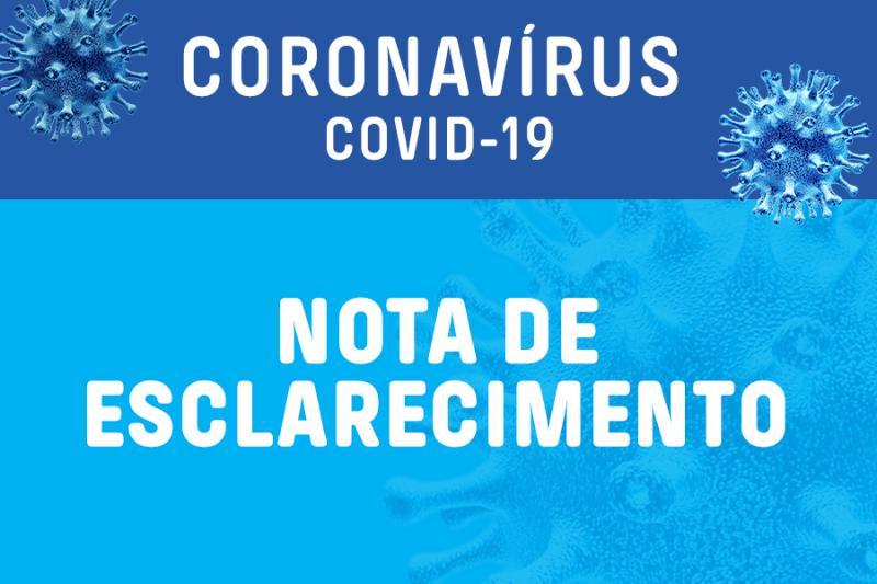 Prefeitura de Santa Cruz dos Milagres esclarece sobre casos de Covid-19