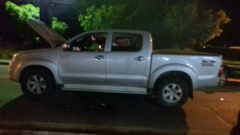 Condutor é detido com Hilux roubada na BR-230 no Piauí