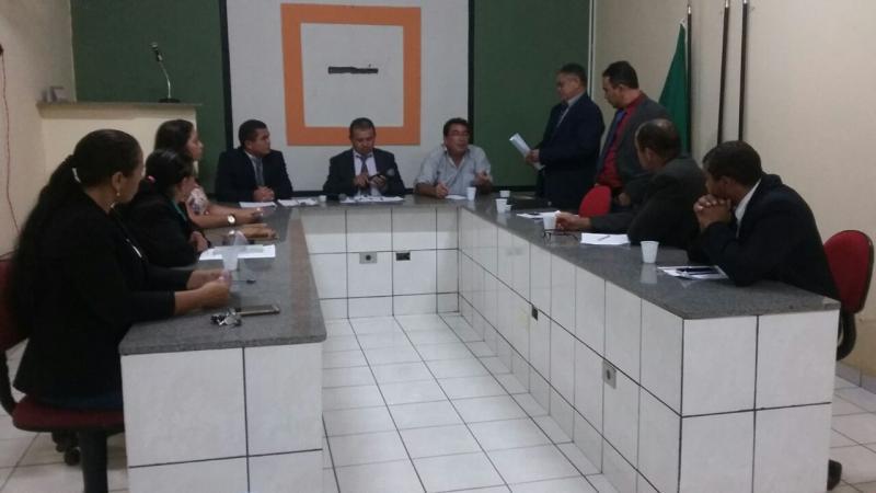 Prefeito de Tanque do Piauí faz a abertura dos trabalhos da Câmara Municipal