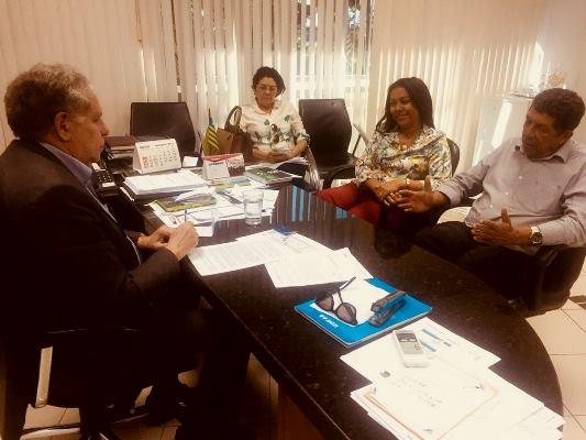 Prefeita Doquinha foi a Eletrobras tentar resolver débito de R$ 1.521.063,00