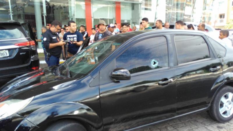 Homem é baleado durante briga em concessionária de Teresina