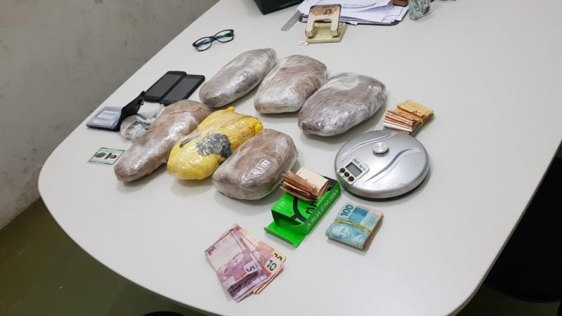 Suspeitos são presos com três quilos de skank no sul do Piauí