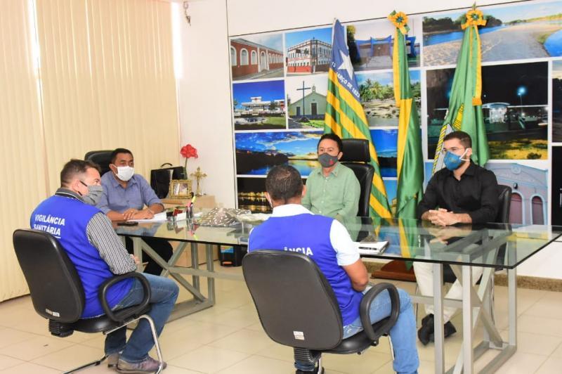 Reunião avalia nova feira popular de Floriano