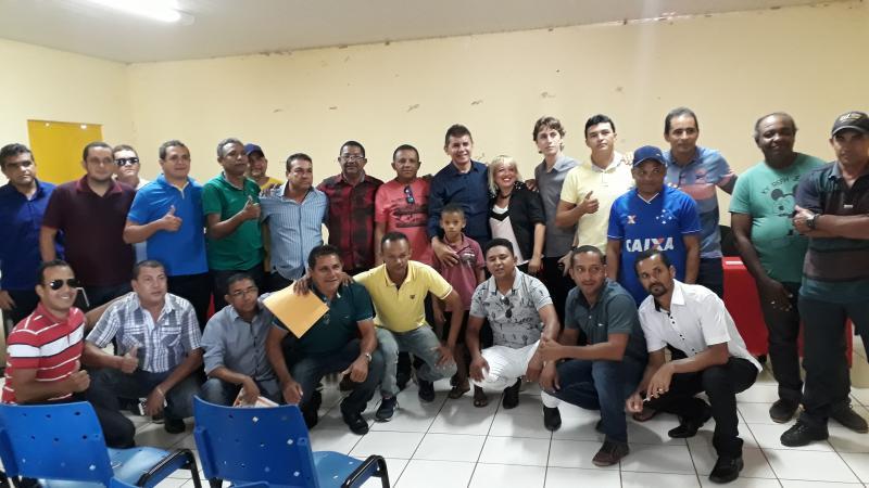 Reunião com desportistas do sul do Piauí é realizada em Landri Sales