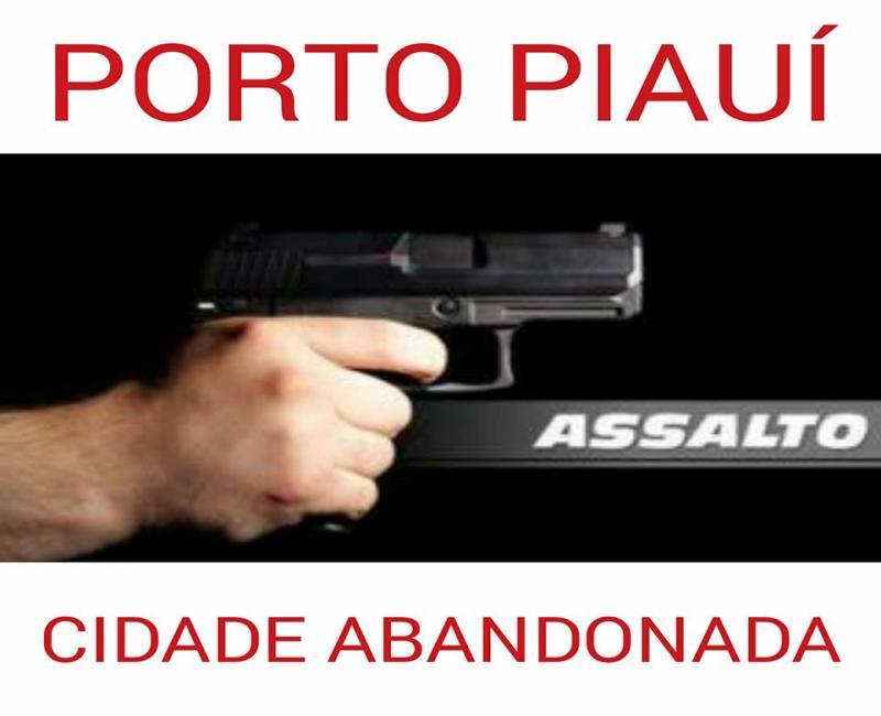 Bandidos armados realizaram um grande arrastão na cidade de Porto