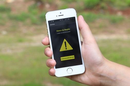 Moradores passam a receber a partir de hoje alerta de desastres naturais por SMS