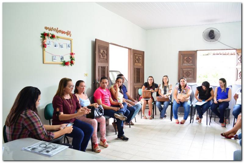 Reunião para formação da comissão intersetorial do Selo Unicef