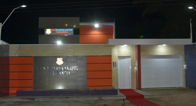 MS de Sousa Santos vigilância inaugura a sua nova sede em São Pedro do Piauí