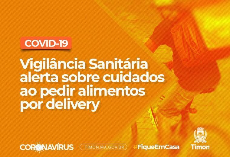 Vigilância Sanitária alerta sobre cuidados ao pedir alimentos por delivery