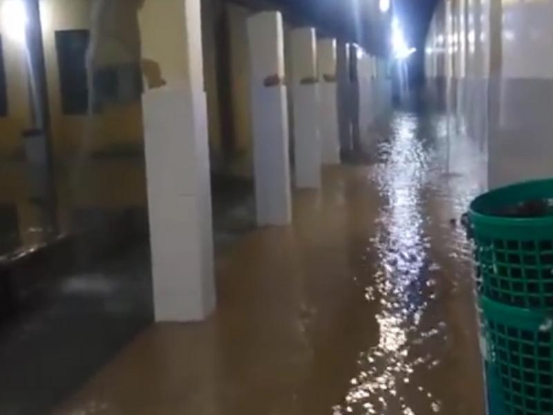 Chuva forte deixa vários pontos alagados na cidade de Batalha