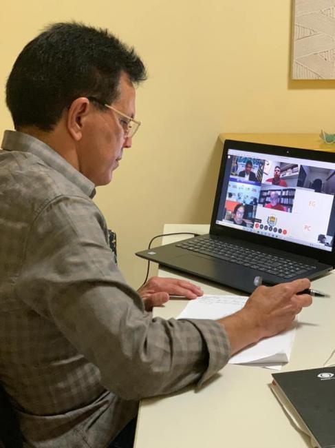 Santana participa de reunião sobre o 'Programa de Proteção a Nossa Gente'