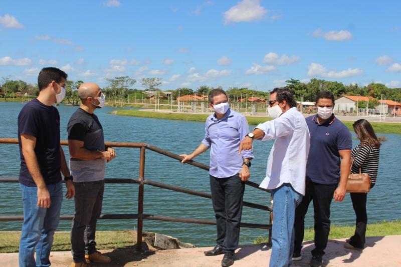 Vídeo: Rafael Leitoa e Diego Rolim visitam o Parque Ambiental Sucupira