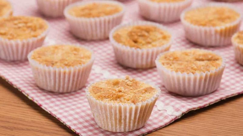 Aprenda a fazer deliciosas Queijadinhas com biscoito