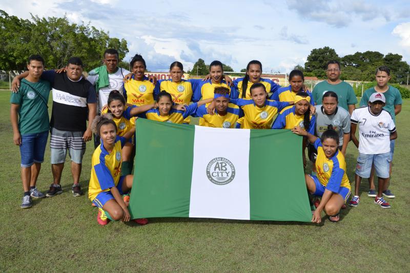 AB City vence jogo da primeira rodada da II Taça Bola Mulher