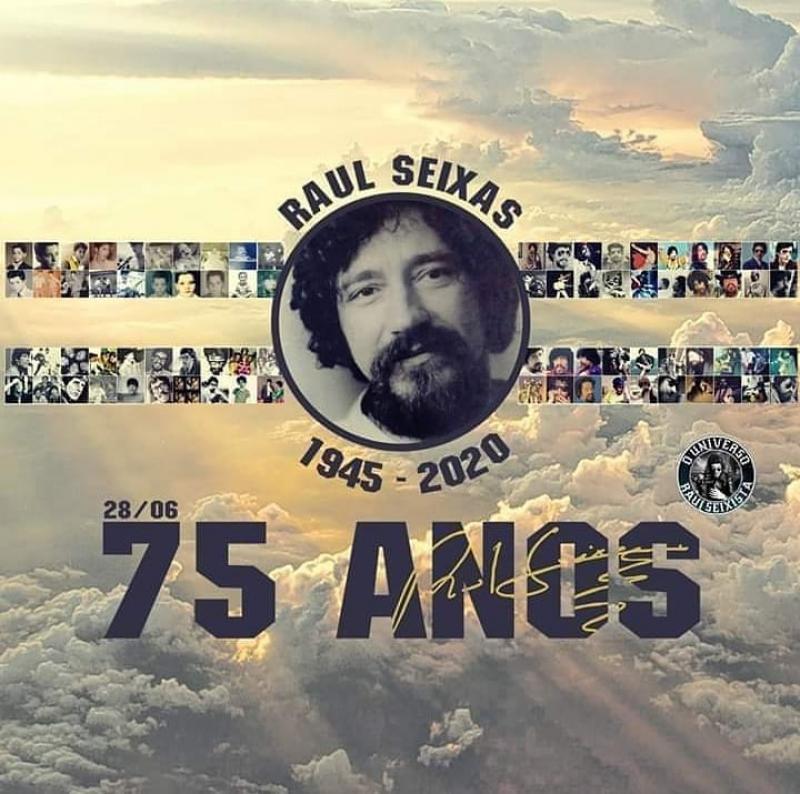 75 anos de Raul Santos Seixas - 28/06/2020