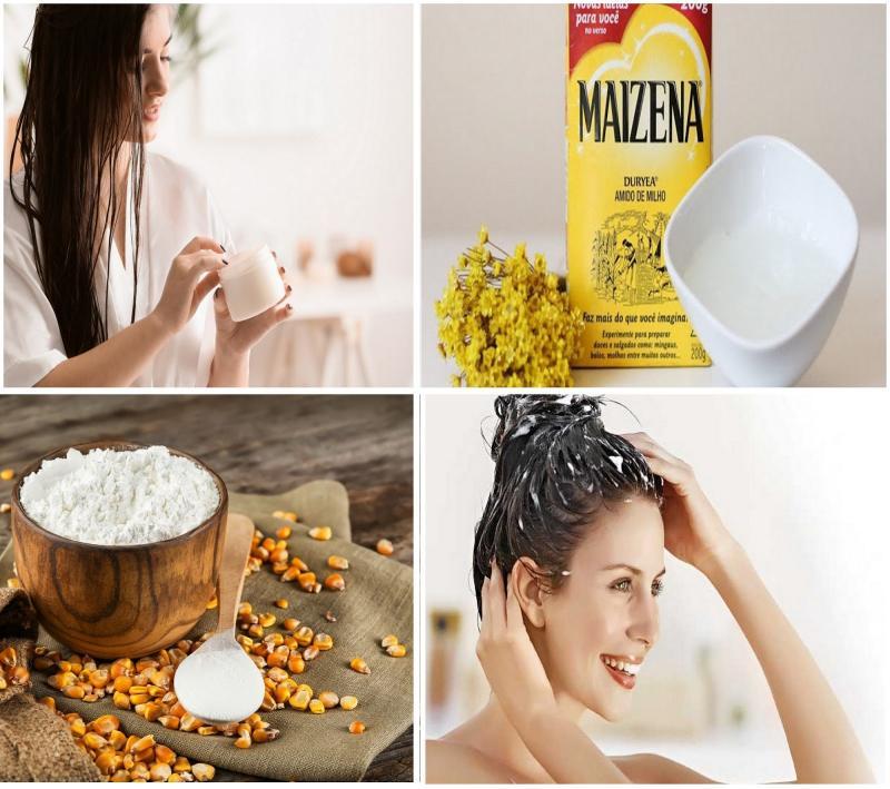Como hidratar os cabelos com maizena? Veja a dica da hidratação caseira