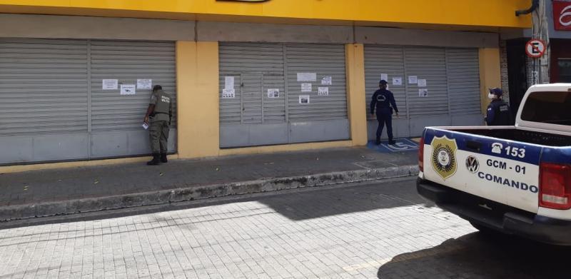 Guarda Municipal fechou mais de 200 estabelecimentos