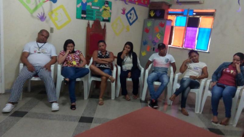 Secretaria de assistência social de Lagoinha do Piaui realiza reunião com funcionários
