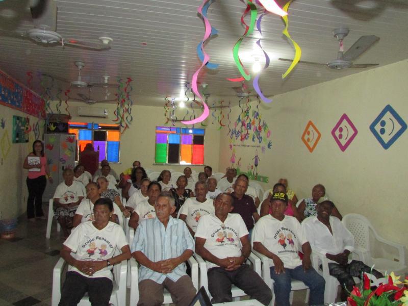 Secretaria de assistência social e CRAS de Lagoinha do Piauí  Realiza encontro , com grupo de idoso