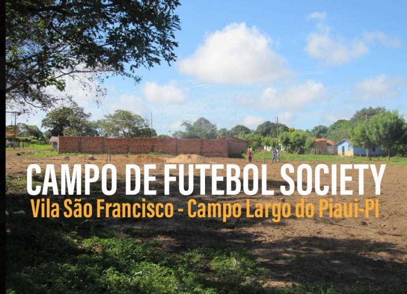 Campo Largo |Localidade Vila São Francisco ganhará campo de Futebol Society