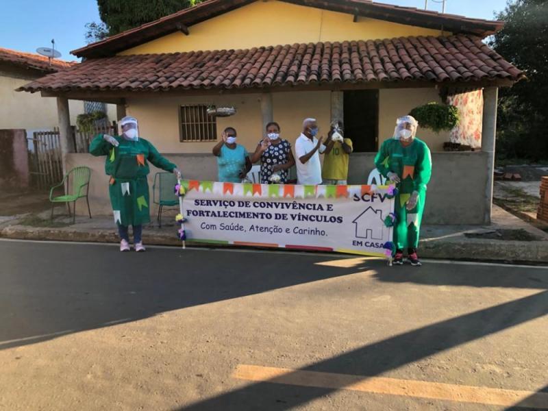 Assistência Social de Miguel Leão promove Arraiá em Casa a usuários do SCFV