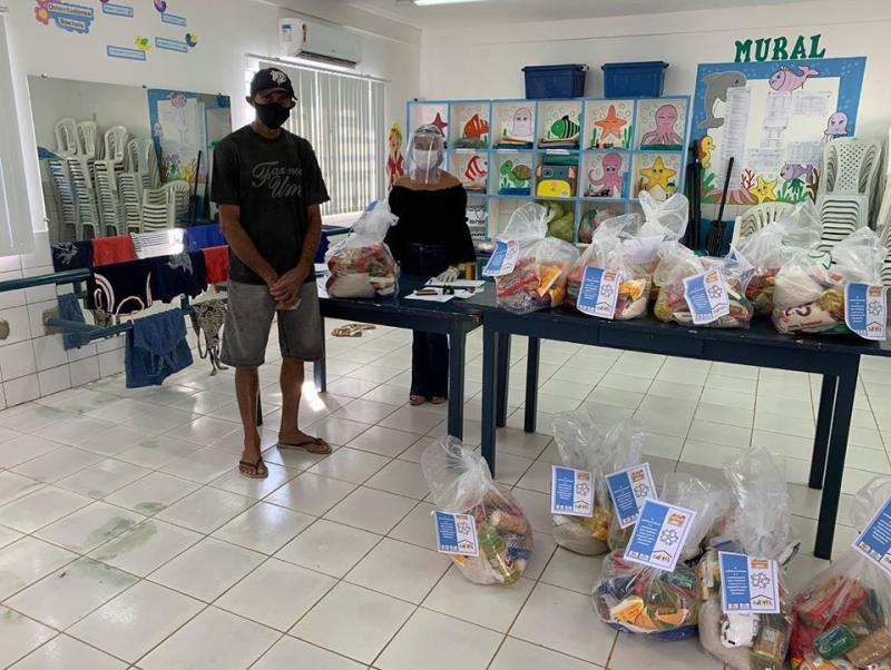 SEMAS  já entregou mais de 79 cestas básicas às famílias em Oeiras