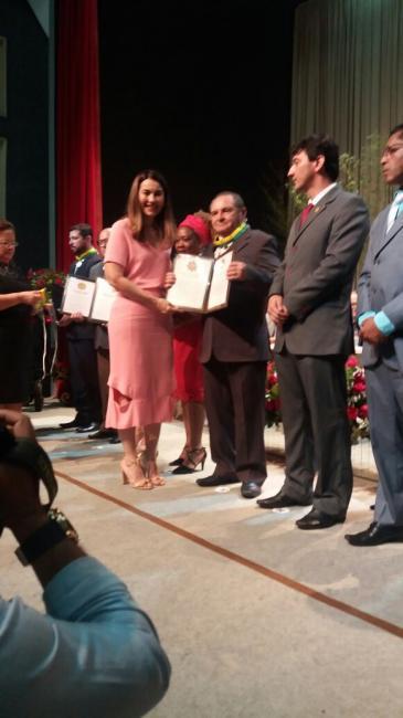 Dr. Luciano dos Santos Nunes recebe medalha da Ordem do Mérito Renascença