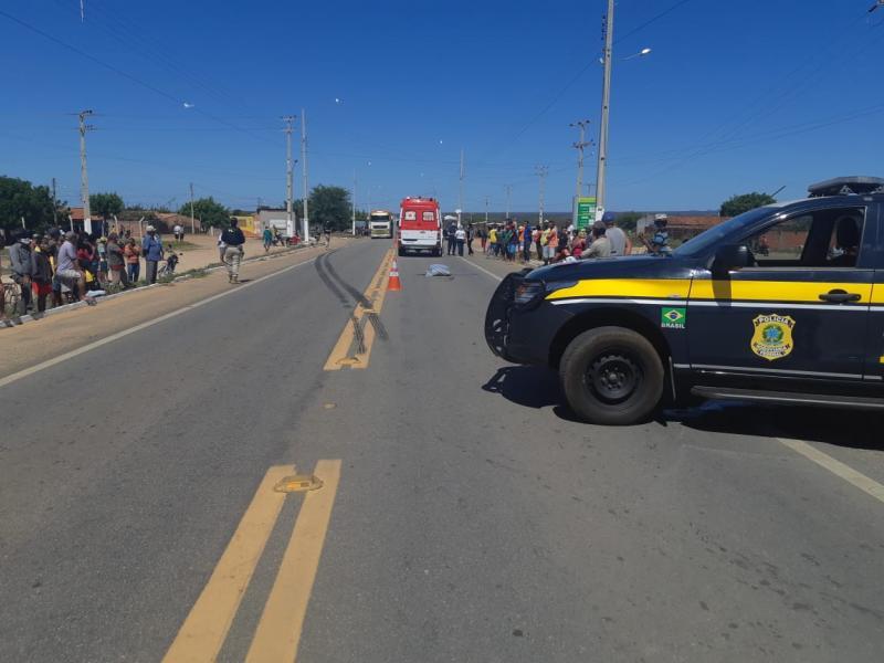 Homem de 39 anos morre atropelado por carreta no Piauí