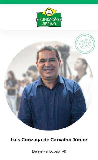 Demerval Lobão é destaque nacional e gestor recebe Certificação Abrinq