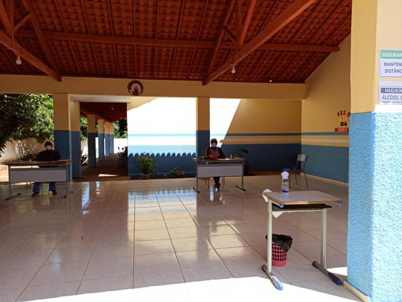 1200 alunos são atendidos por plano de aulas remotas em Landri Sales